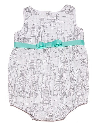 PLAYSUIT CASTLE PLANS WHITE