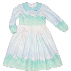 VIRGINIA DRESS UNICORN PARADE MINT