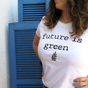 polera future is green my way kids algodón orgánico babyshower my way kids