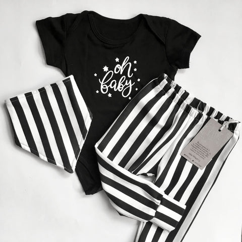 set ajuar pack de regalo baby shower recline nacido leggings babero body my way kids algodón orgánico