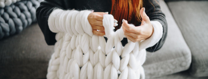 How to make a chunky knit blanket – DIY guide for beginners