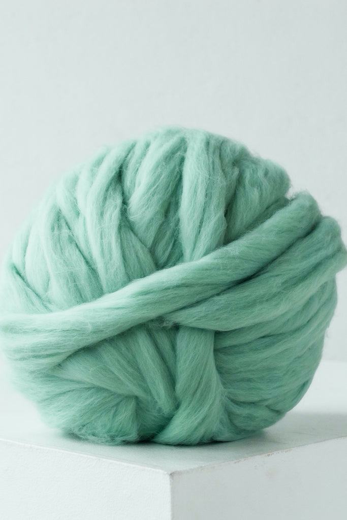Arm Knit Yarn Chunky Merino Wool Giant Yarn Diy Chunky Yarn Wool Yarn Mint 349 Vertical
