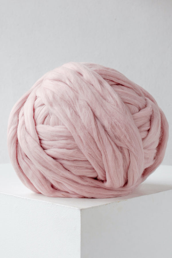 Arm Knit Yarn Diy Chunky Yarn Puffy Yarn Thick Yarn Wool Yarn Dusty Pink 391 Vertical