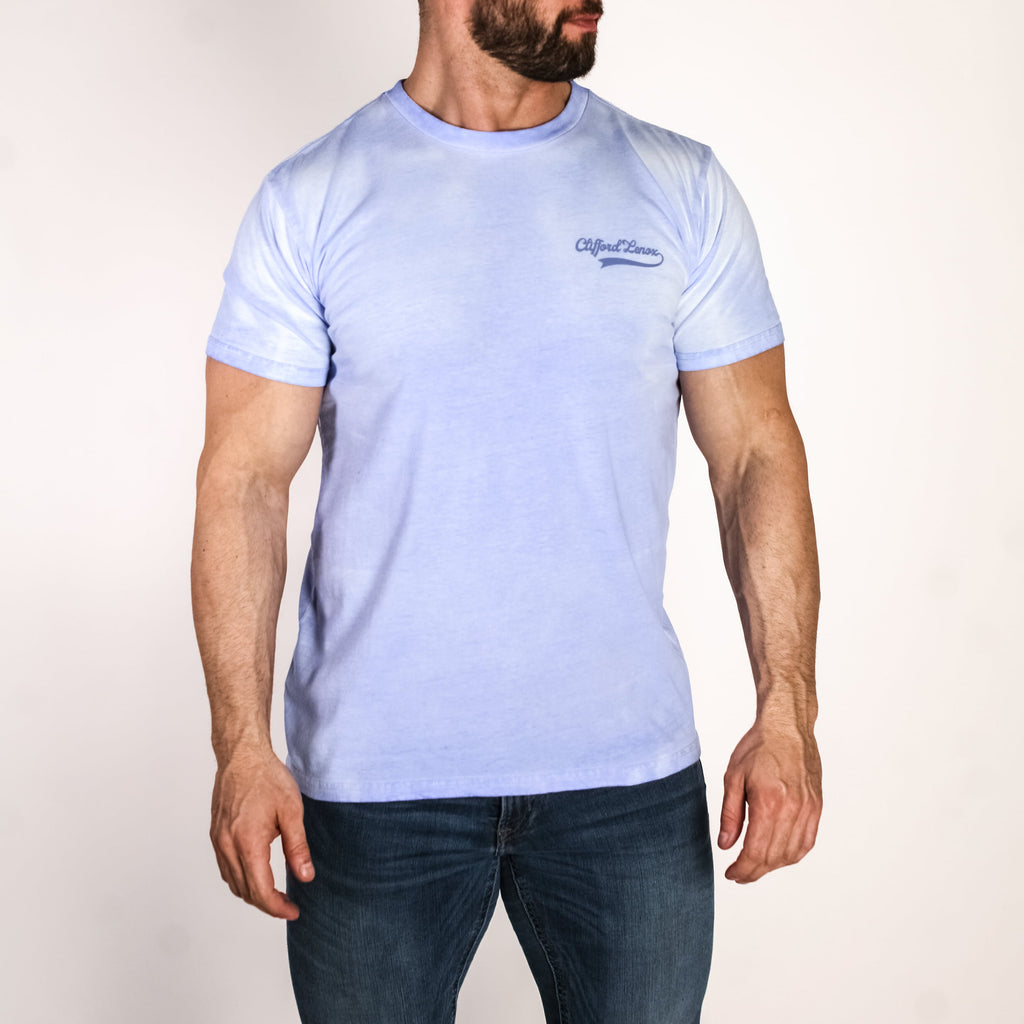 Color Change Tee // Blue