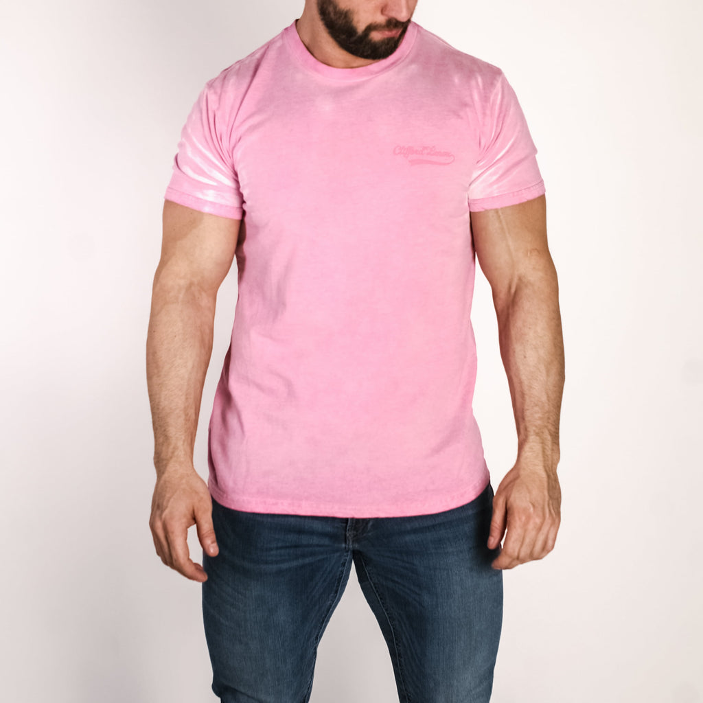 Color Change Tee // Pink