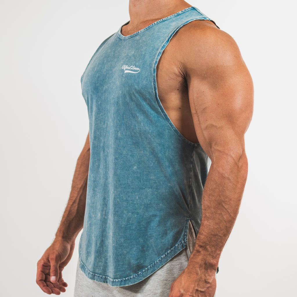 All-Star Vintage Muscle Tank // Washed Sky Blue
