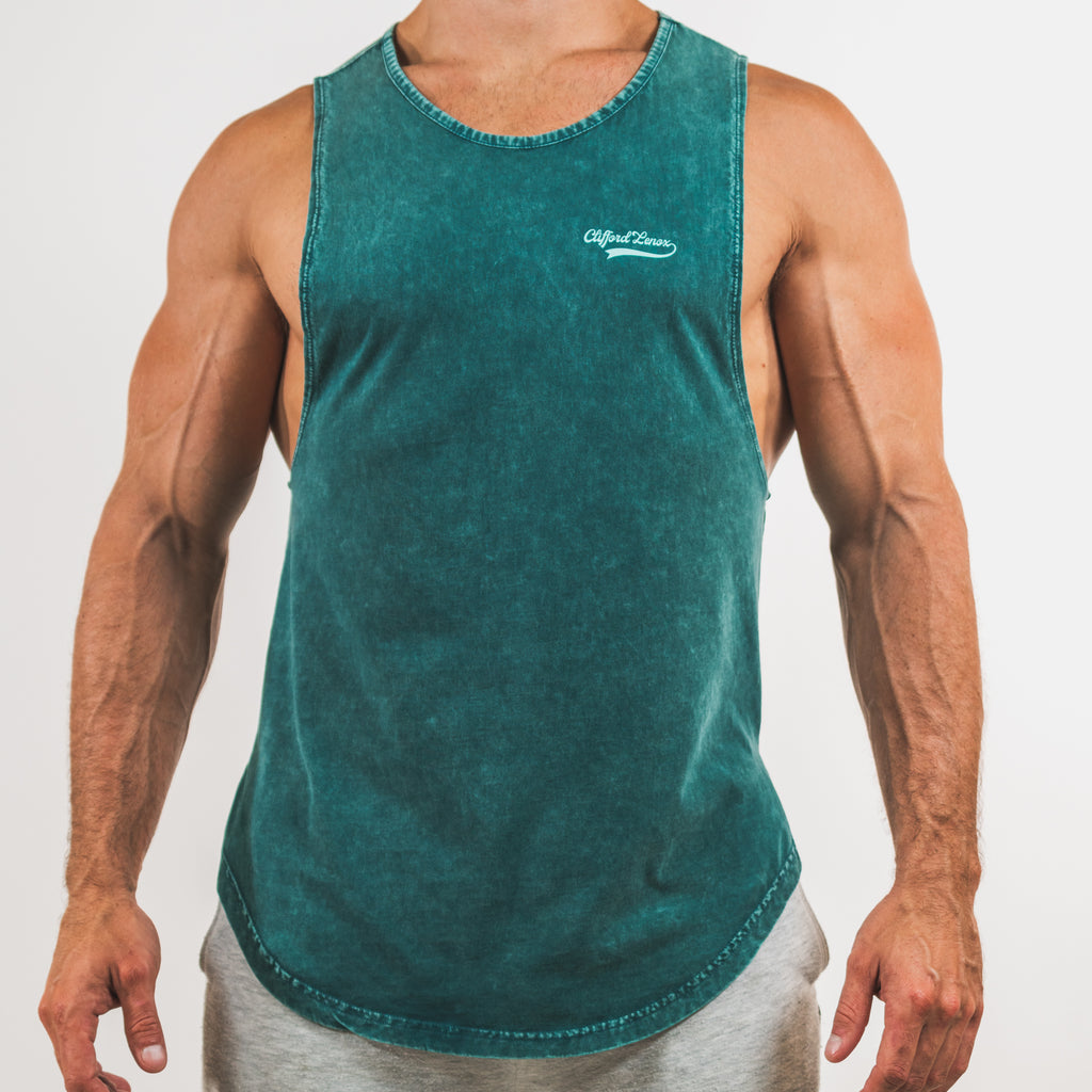 All-Star Vintage Muscle Tank // Washed Teal