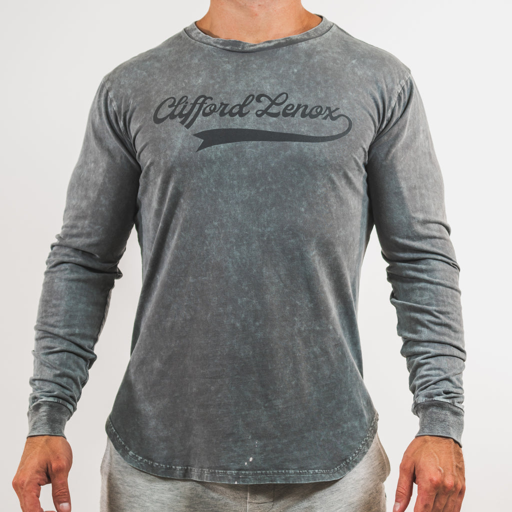 All-Star Vintage Long Sleeve Shirt // Washed Grey