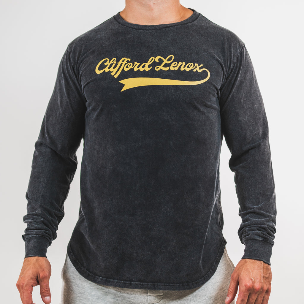 All-Star Vintage Long Sleeve Shirt // Washed Black