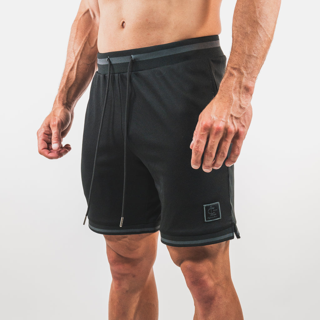 Basketball Jersey Shorts // Black