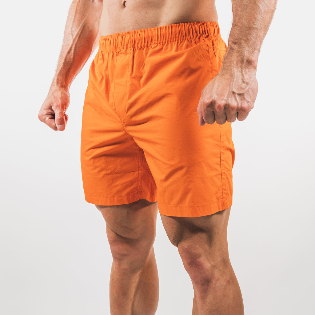 Beach Shorts // Orange