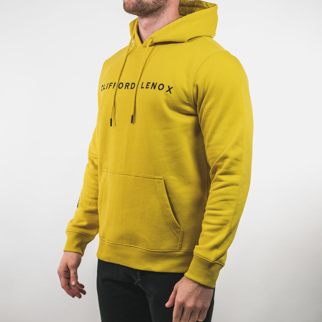 Tech Patch Hoodie // Yellow
