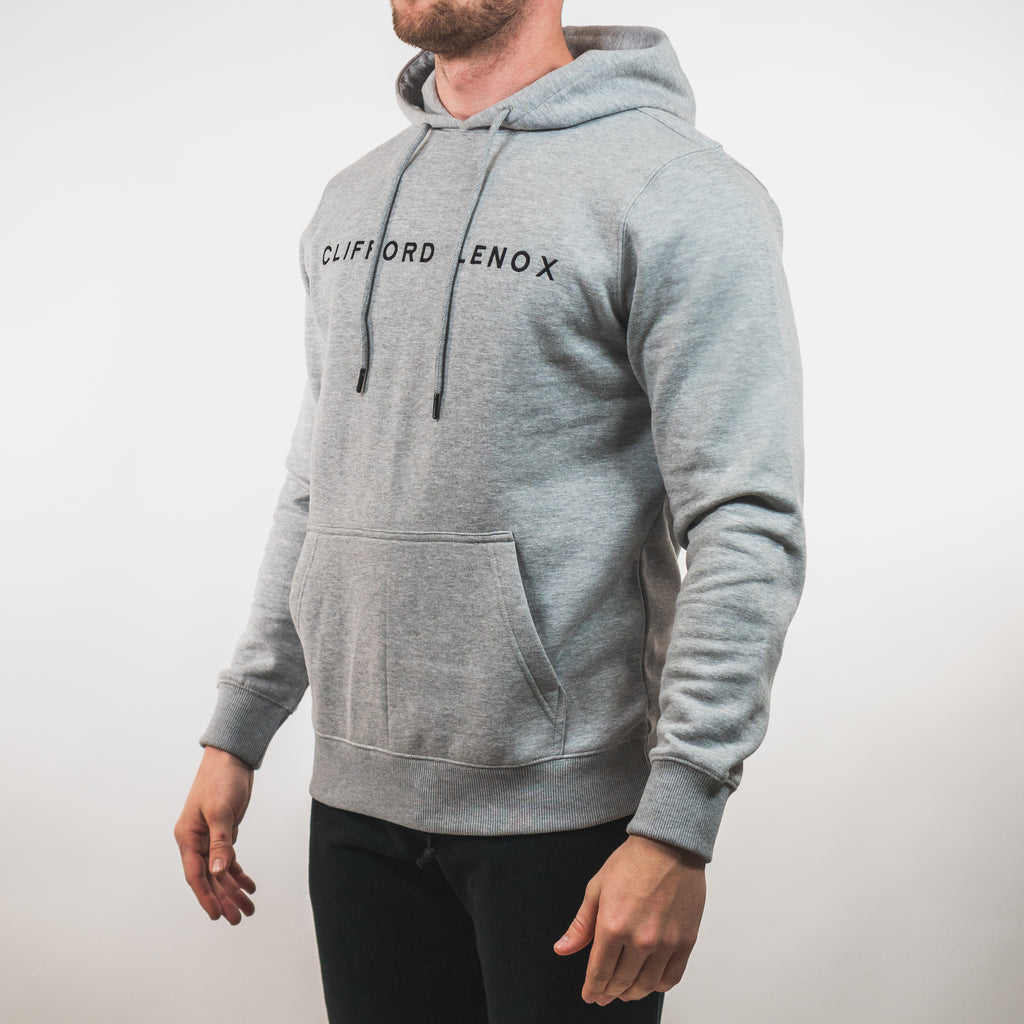 Tech Patch Hoodie // Heather Grey