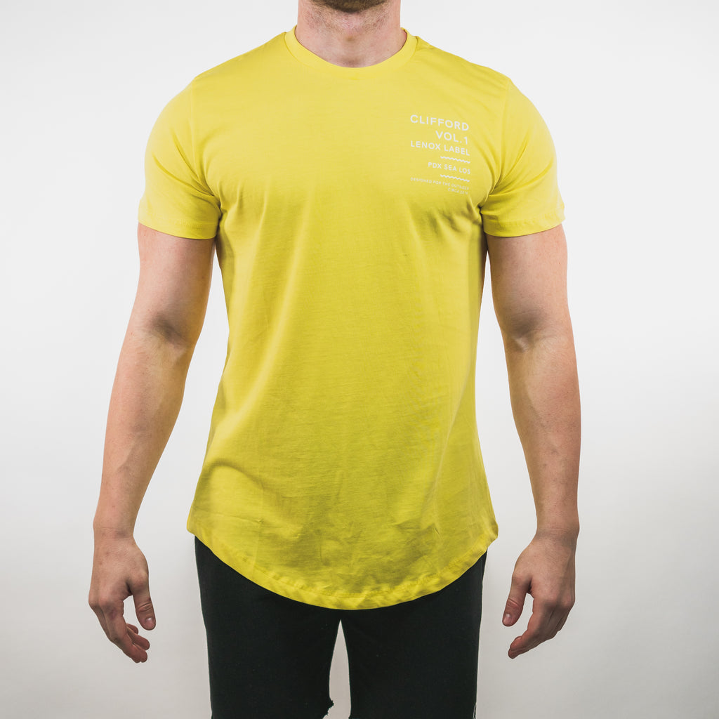 Outsider Vol. 1 Scallop Tee // Yellow