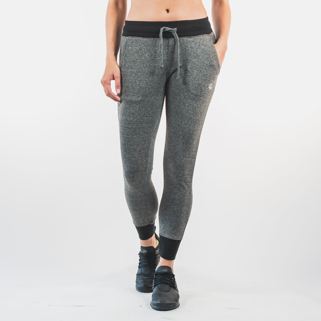 Essential Fitted Joggers // Charcoal
