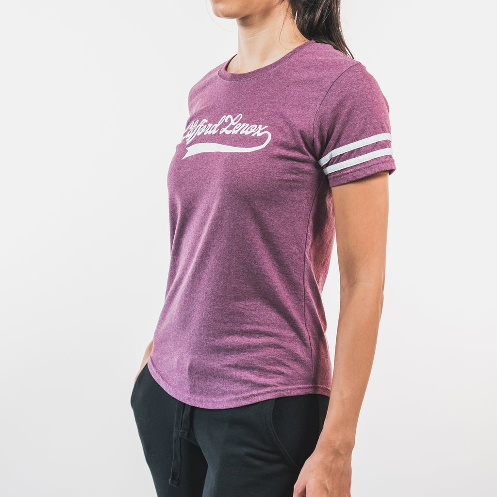 All-Star Training Day Tee // Burgundy Heather
