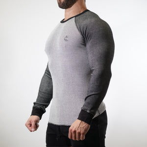 Thermal Warm up Long Sleeve - Grey/Black