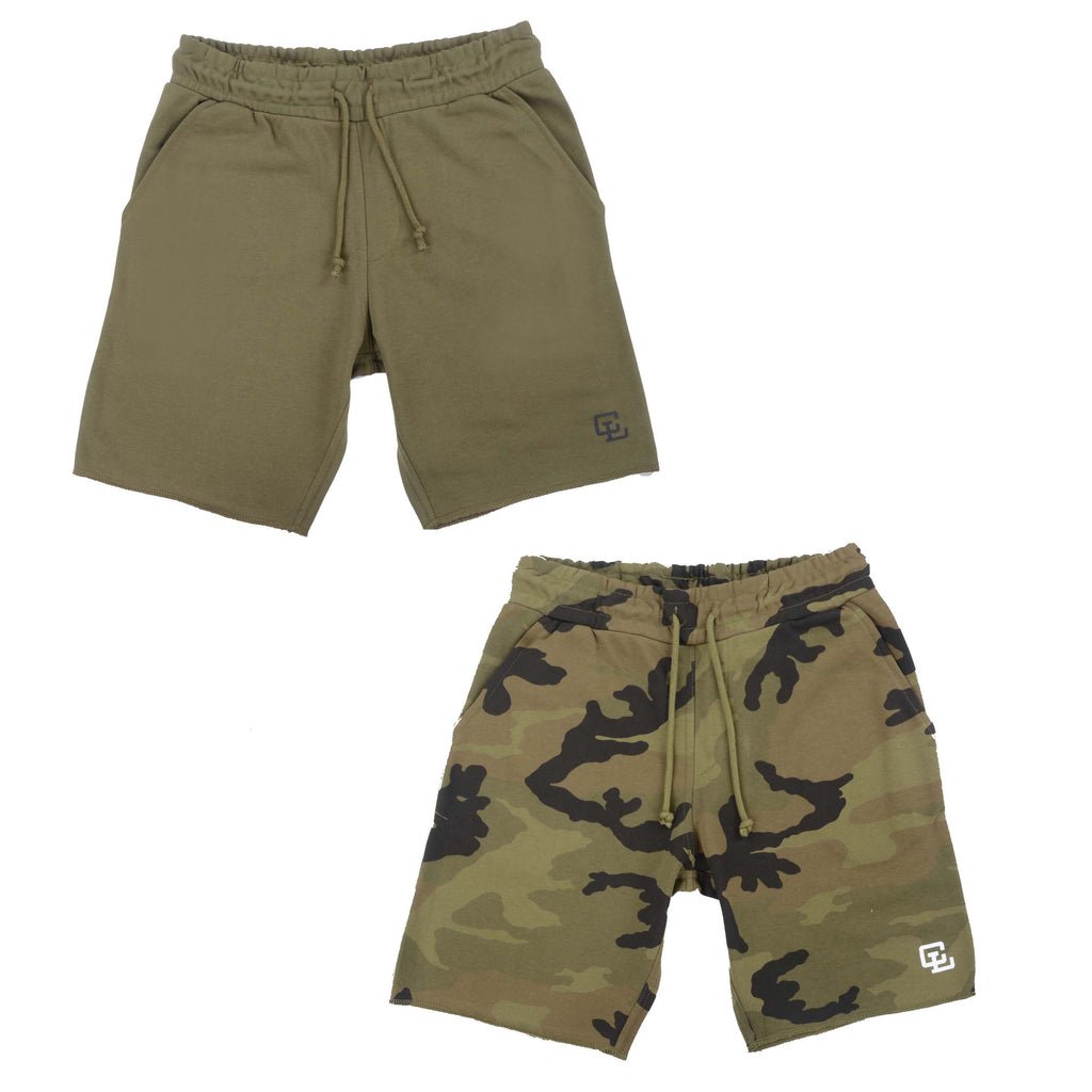 Everyday Shorts TWIN Pack// Camo 2.0 and Olive