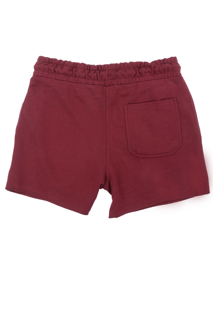 Leg Day Short Shorts // Burgundy