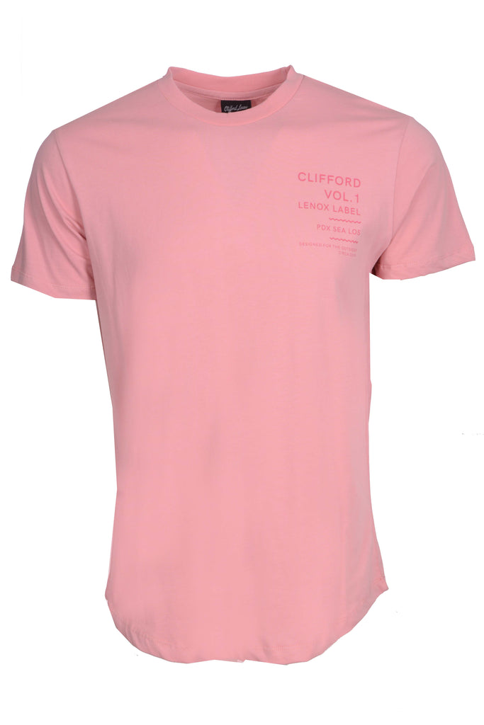 Outsider Vol. 1 Scallop Tee // Pink