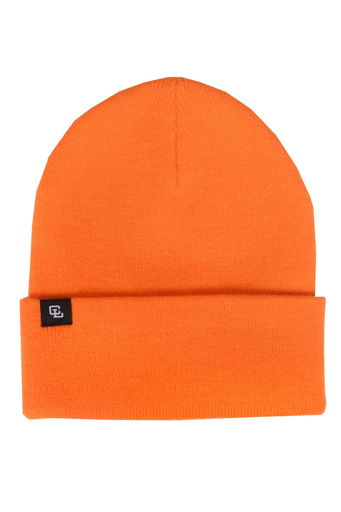 Tag Beanie // Orange