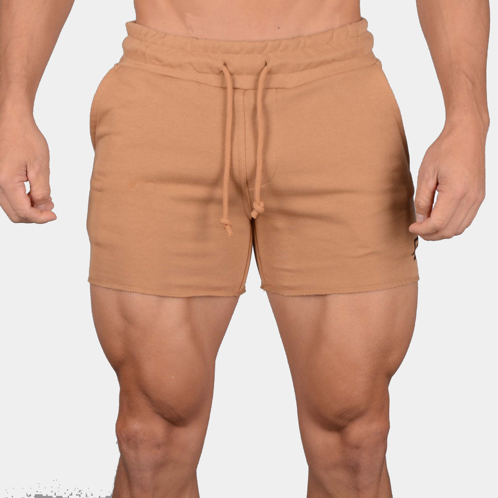 Leg Day Short Shorts // Tan