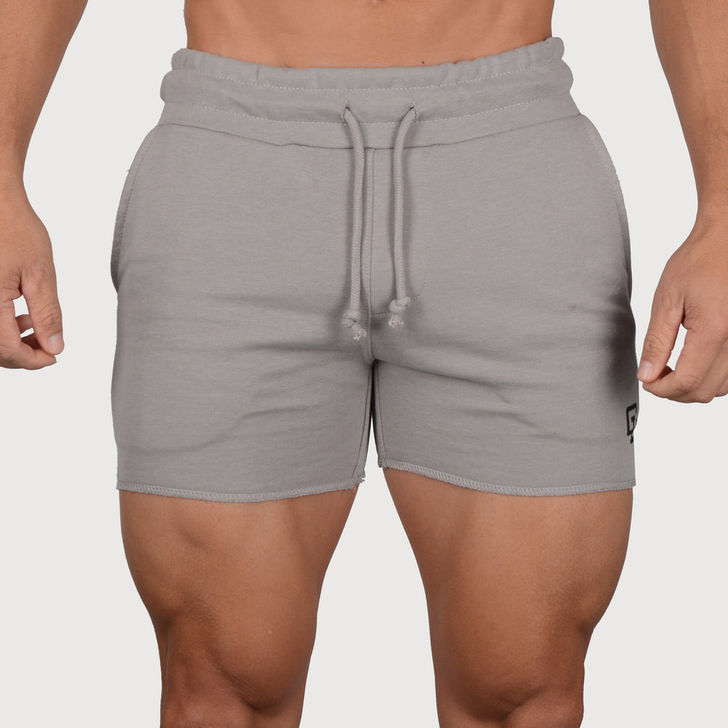 Leg Day Short Shorts // Ash Grey