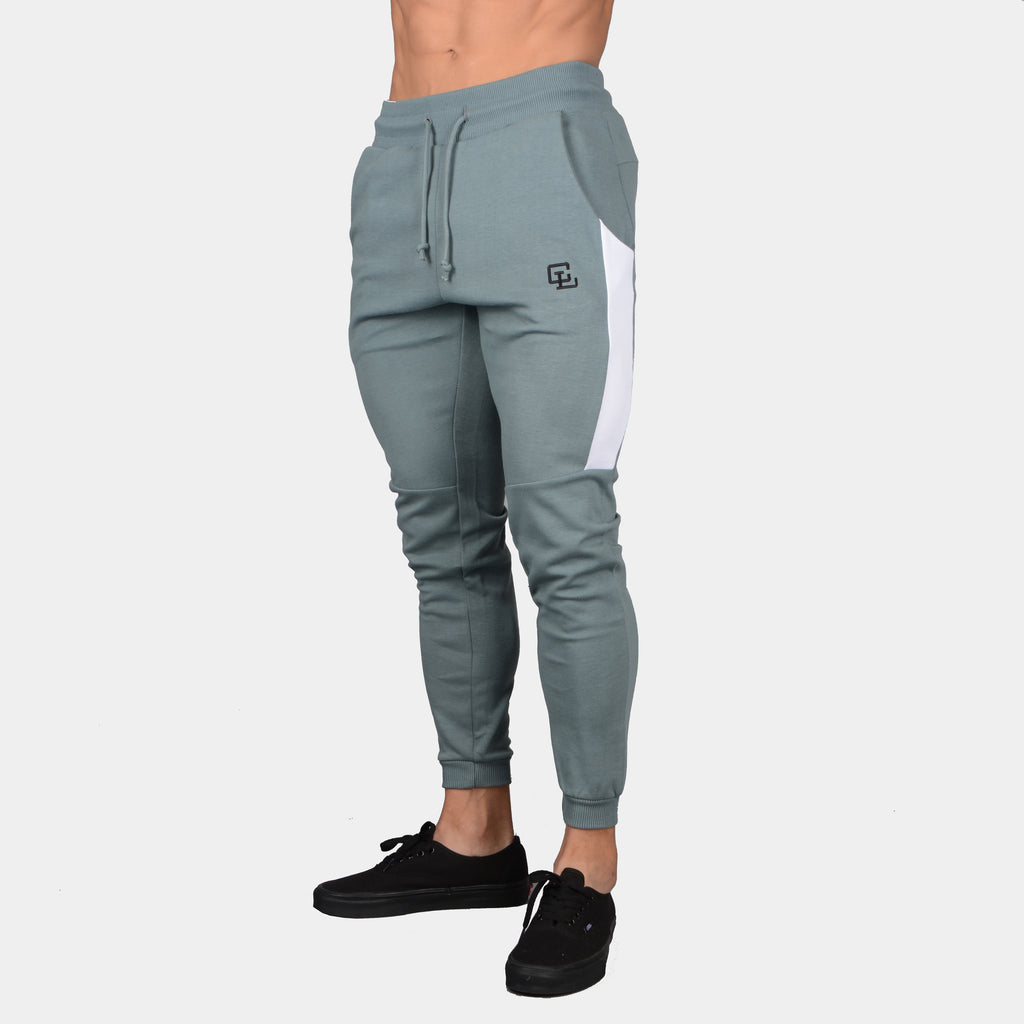 Interlock Tech Joggers // Goblin Blue/White