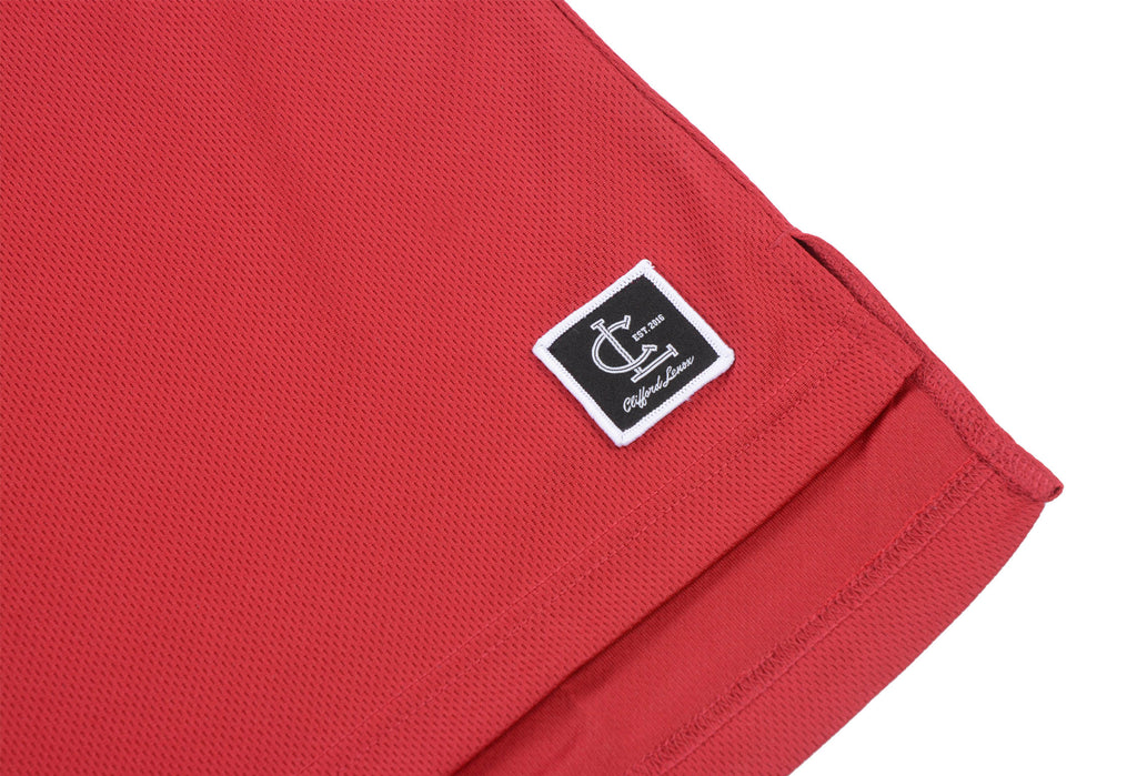 Basketball Jersey Shorts // Chicago Red