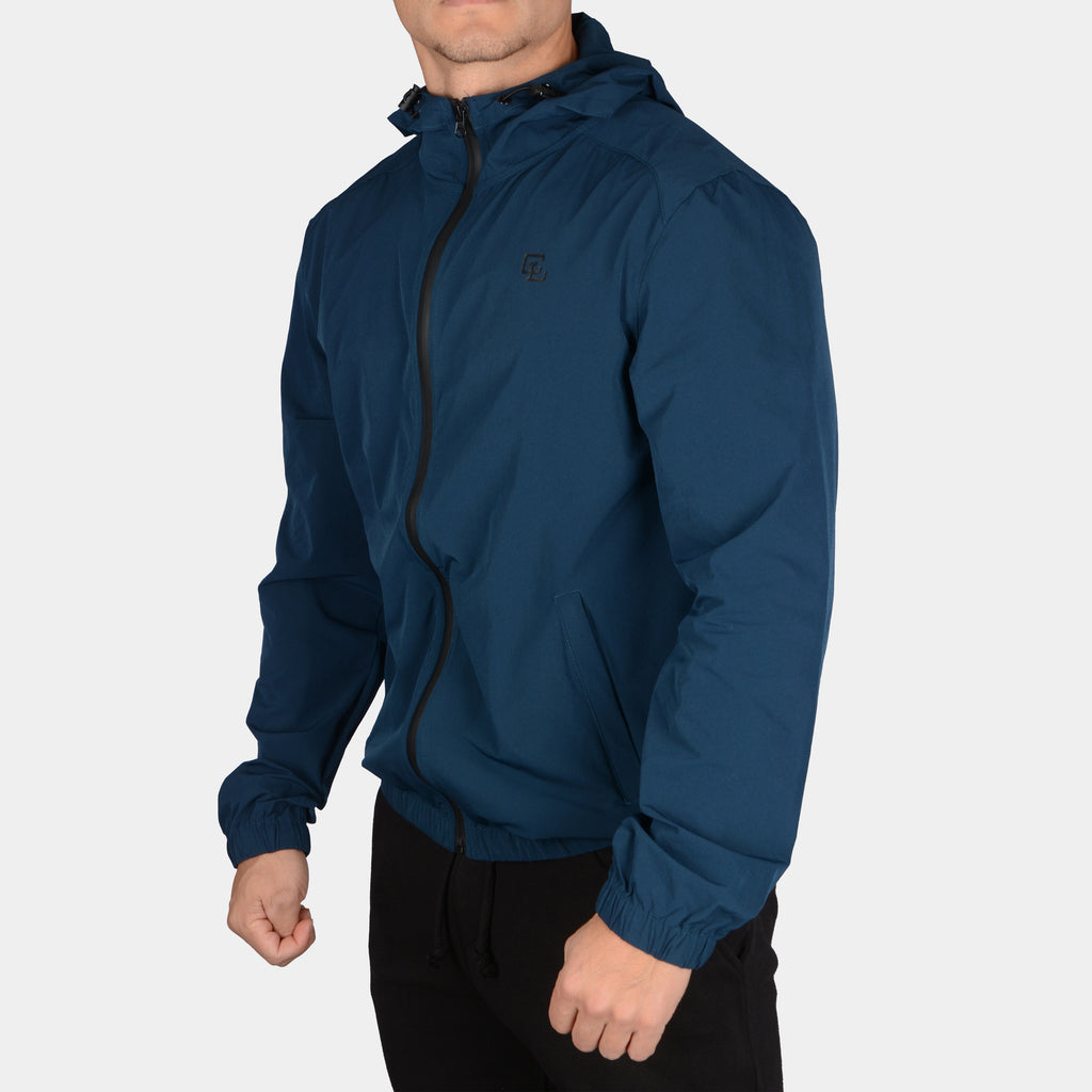 Tech Windbreaker Jacket // Midnight Blue