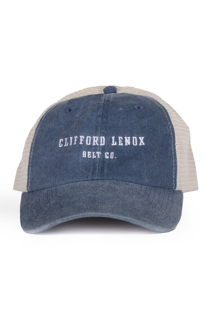 Clifford Lenox Belt Co. Vintage Mesh Hat // Washed Navy