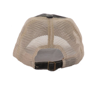 The Daily Pump Curved Mesh Trucker Hat - Brown