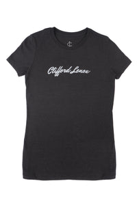 Womens Fitted Basic Tee - Black