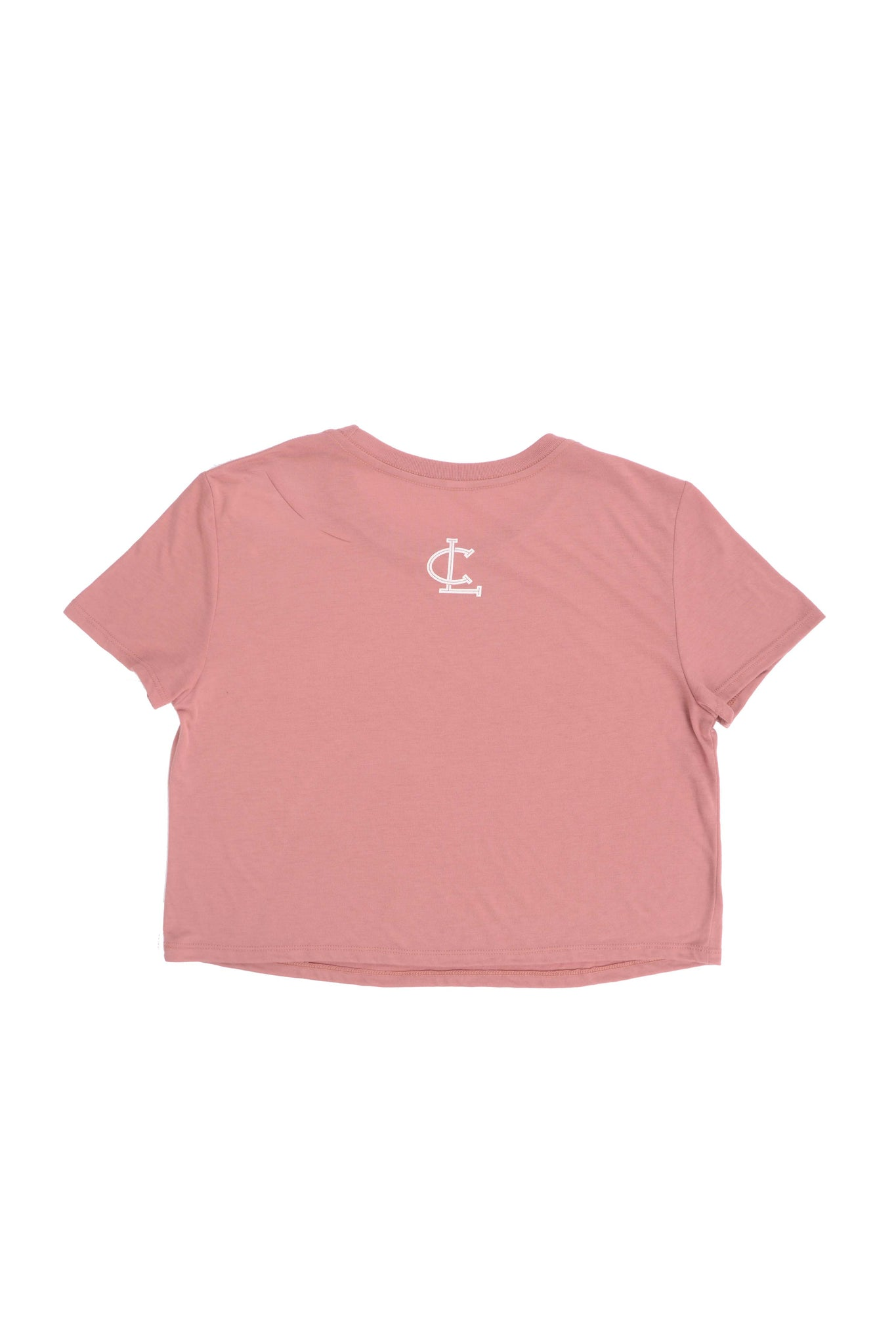 Clifford Lenox Womens Super Soft Cropped Tee - Mauve
