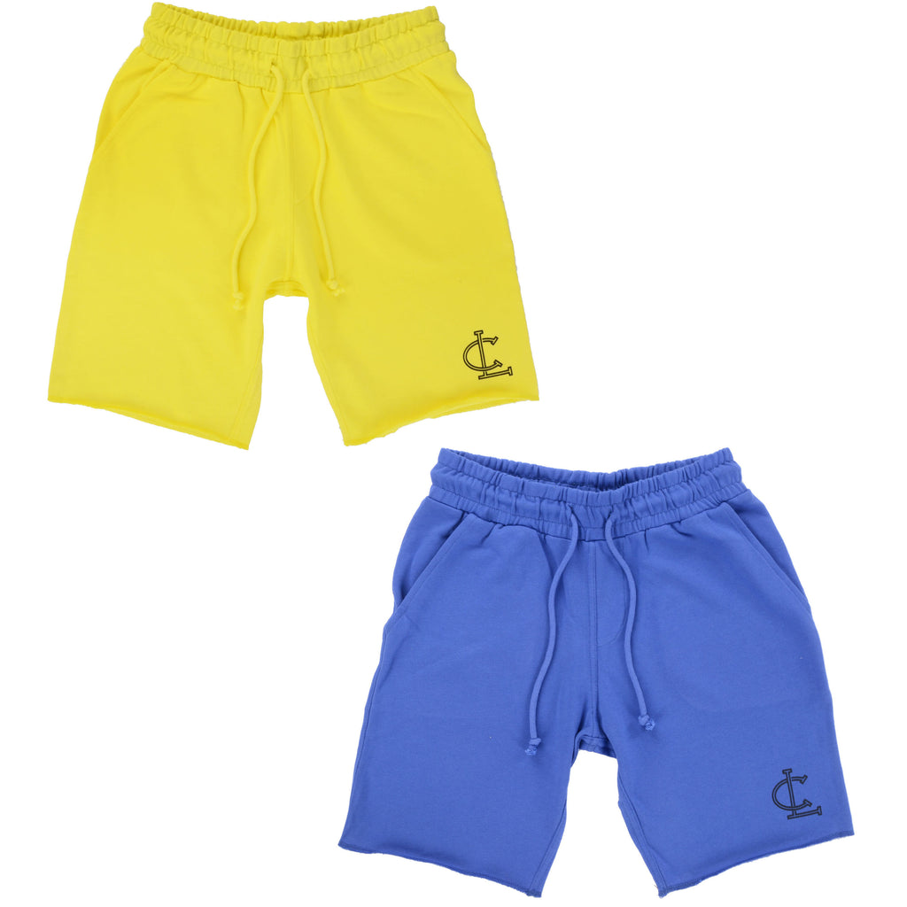 Everyday Shorts TWIN Pack // Yellow and Blue