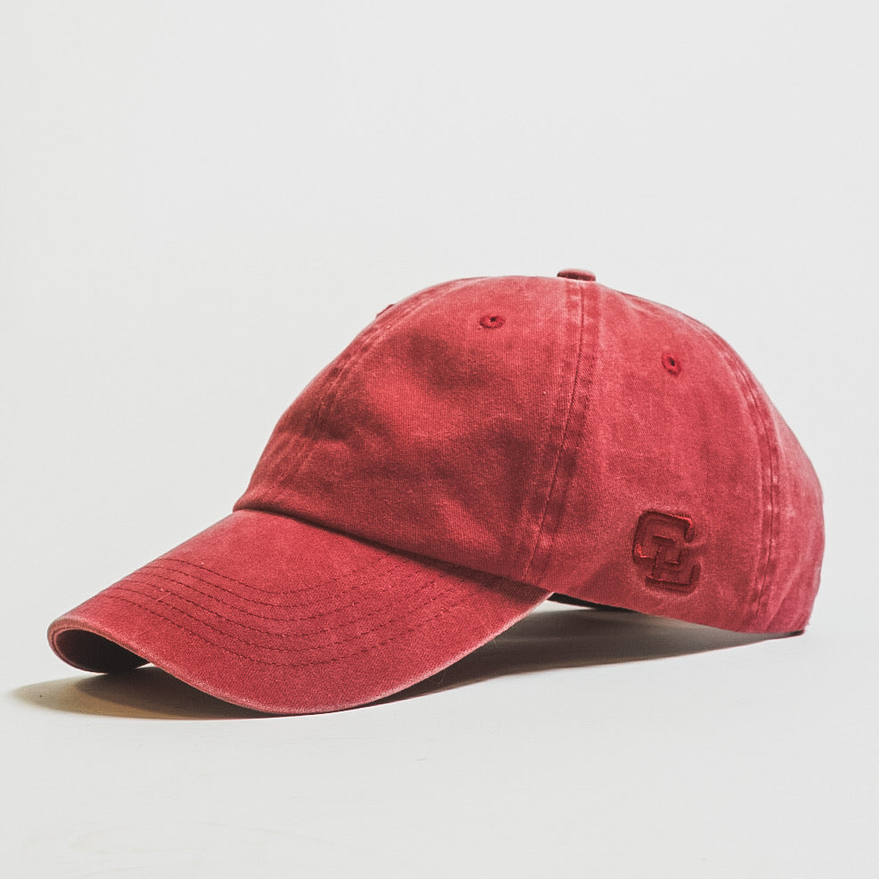 Vintage Dad Hat // Red