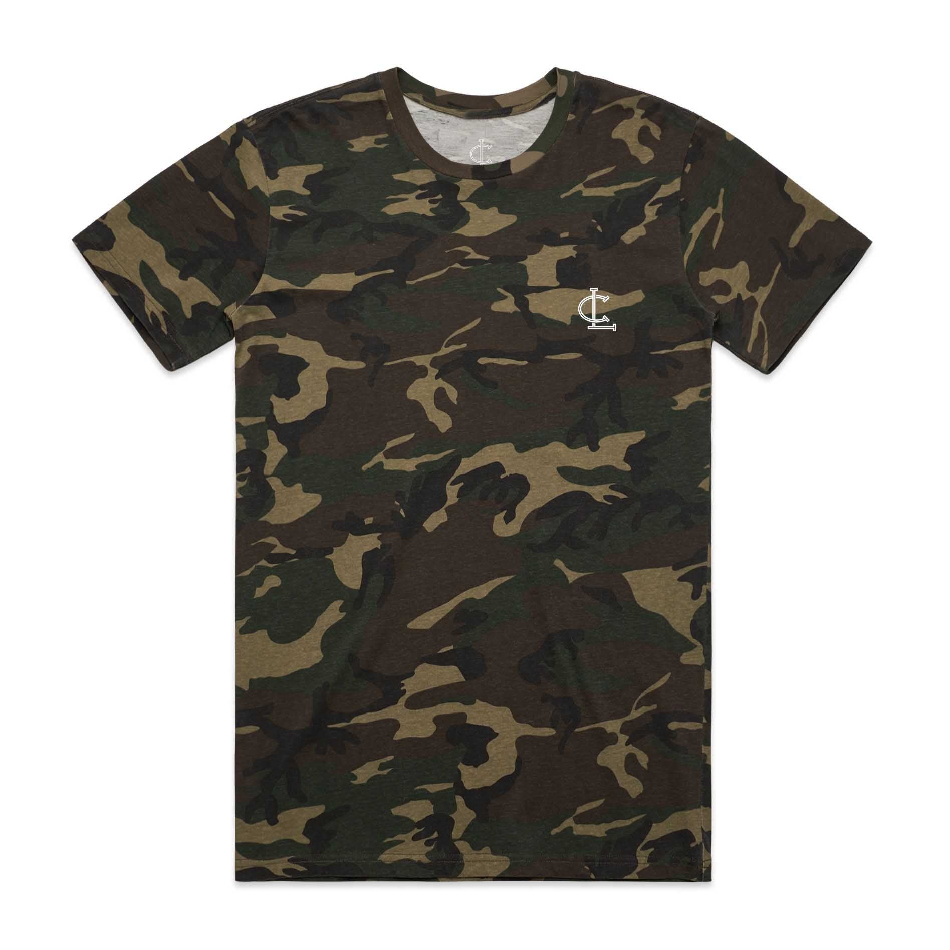 Staple Tee - Camo Green
