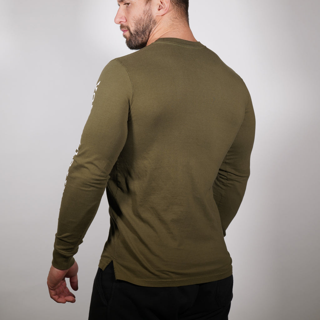 Clifford Lenox Long Sleeve - Olive
