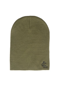 Tight-Knit Beanie - Olive