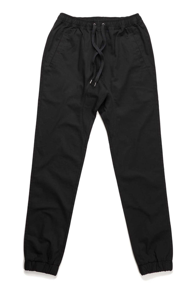 Clifford Lenox Twill Joggers - Black