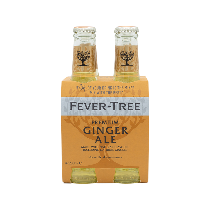 Fever-Tree Ginger Ale 4x200ml