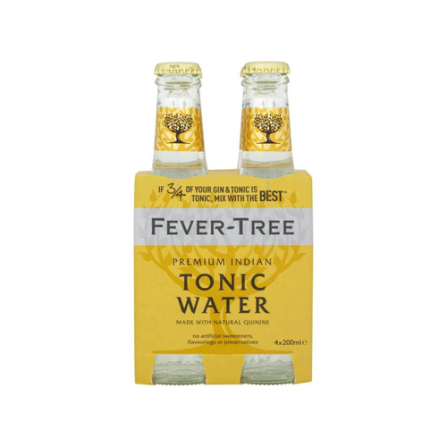 Fever-Tree Indian Tonic 4x200ml