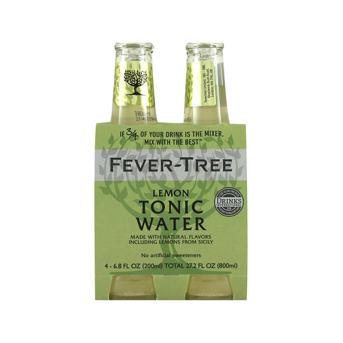 Fever-Tree Lemon Tonic 4x200ml