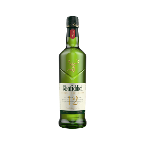Glenfiddich 12 Year Old Single Malt Whisky 700ml