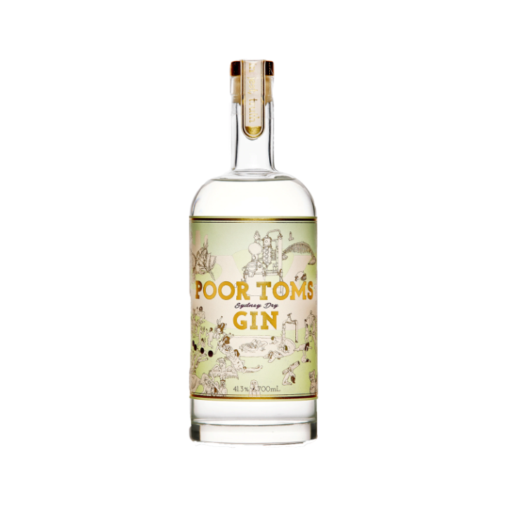 Poor Toms Local Gin 700ml