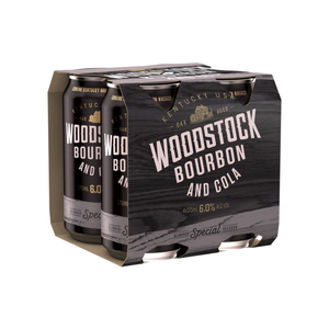 Woodstock Cola 6% 375ml 4pack