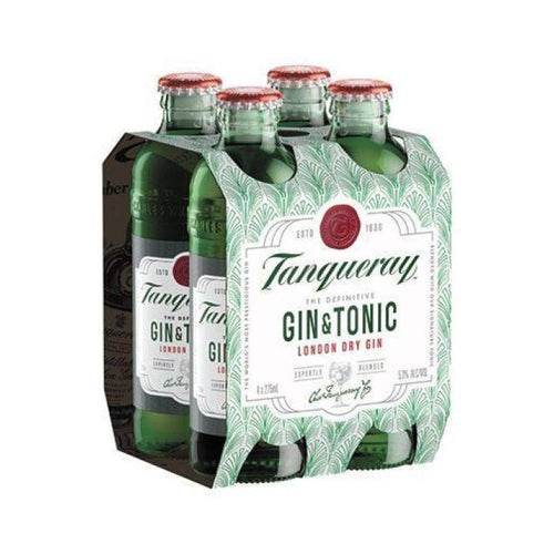 Tanqueray Gin and Tonic