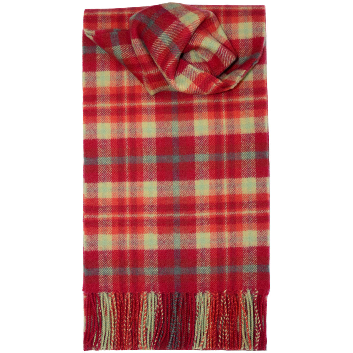 Wool Scarf, Highland Rose