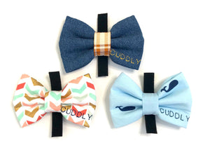 Official CUDDLY Bow Tie Bundle #1 (Set of 3)