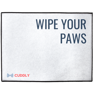 Wipe Your Paws Floor Mat